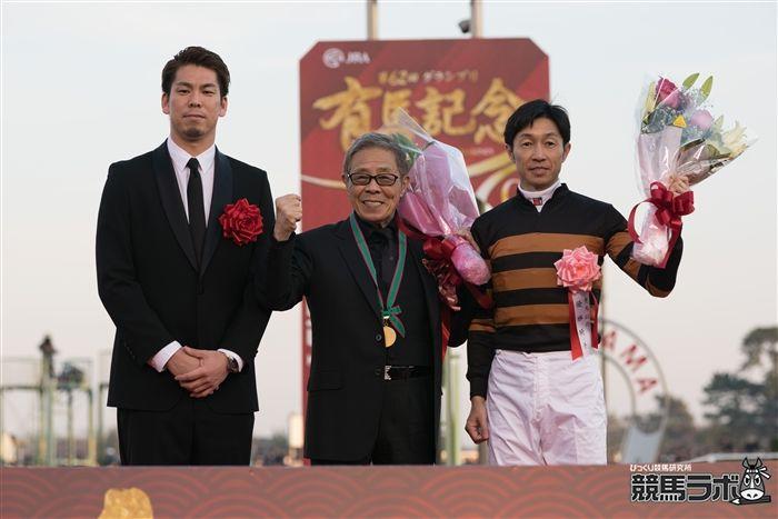武豊騎手、北島三郎オーナー、前田健太投手